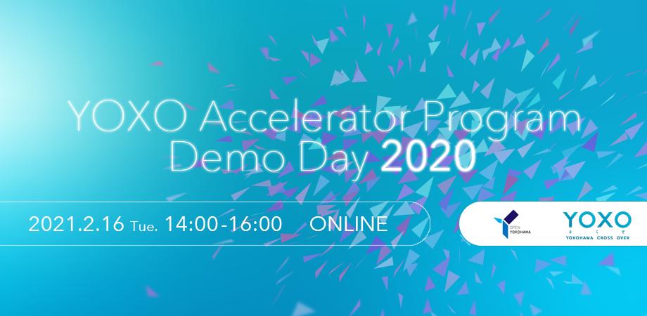 YOXO Accelerator Program 2020 Demo Day